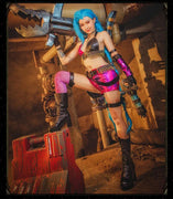 League Of Legends Loli Jinx game costumes. - Adilsons
