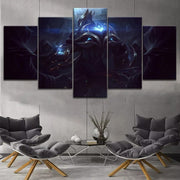 League of Legends modern painting 5 piece. - Adilsons