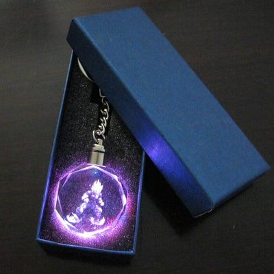 LED key chain dragon ball. - Adilsons