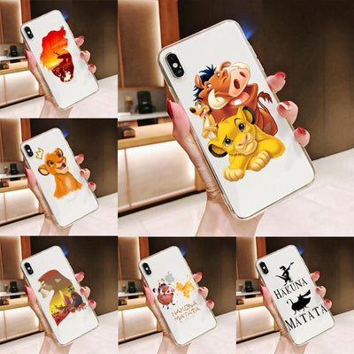 Lion King amazing silicone phone case for iPhone. - Adilsons