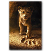 Lion King decorative poster. - Adilsons