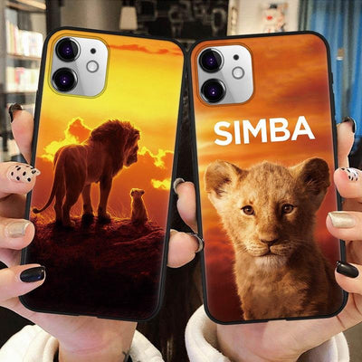 Lion King fashion phone case for IPhone. - Adilsons