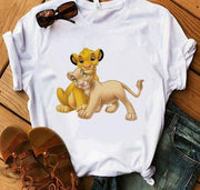Lion King funny short sleeve T-Shirt. - Adilsons