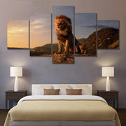 Lion King modern posters 5 set. - Adilsons