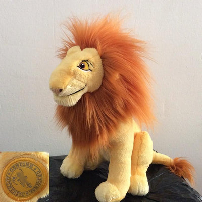 Lion King plush toy soft 32cm. - Adilsons