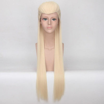 Lord of the Rings synthetic long wig. - Adilsons