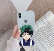 My Hero Academia beautiful phone case for Apple iphone. - Adilsons