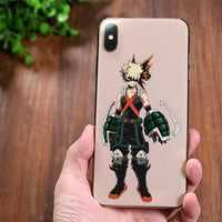 My Hero Academia bright silicone phone case for iPhone. - Adilsons