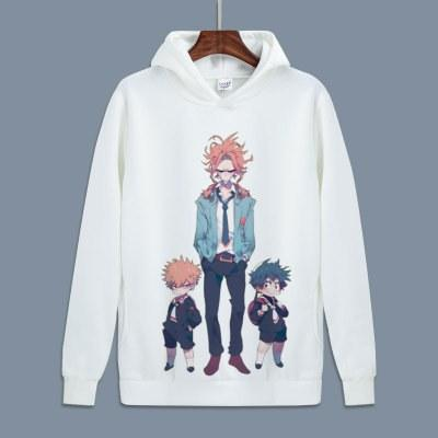 My Hero Academia fleece hoodies for autumn. - Adilsons