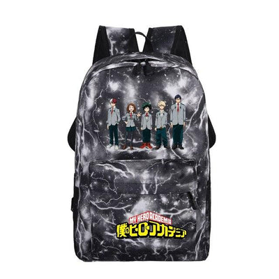 My Hero Academia Galaxy Printing Backpack - Adilsons