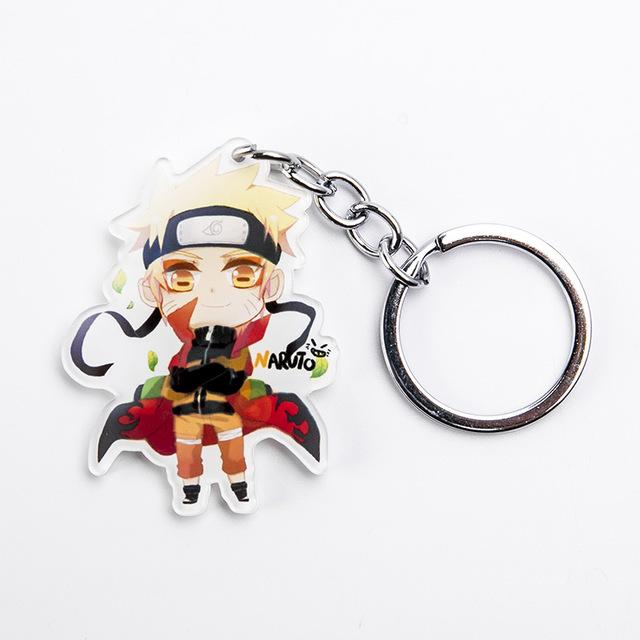 Naruto acrylic keychain, bright, beautiful and high quality. - Adilsons
