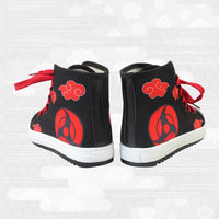 Naruto Akatsuki Cloud design sneakers - Adilsons