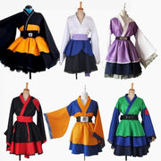 Naruto: Bright, beautiful dress for women and children. - Adilsons