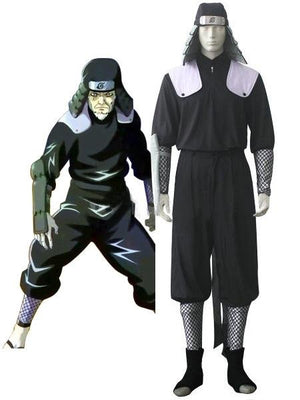 Naruto costume classic black and white. - Adilsons