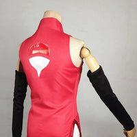 Naruto costume in stock red and watermelon. - Adilsons