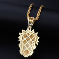 Naruto Gold & Silver Necklace Jewellery - Adilsons