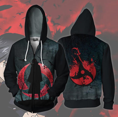 Naruto Hoodies, Akatsuki, Sharingan, Konoha and others - Adilsons