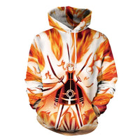 Naruto sweatshirt, t-shirt with a hood and without a cool, bright. - Adilsons