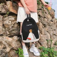 Naruto unisex backpack - high-quality, bright and stylish. - Adilsons