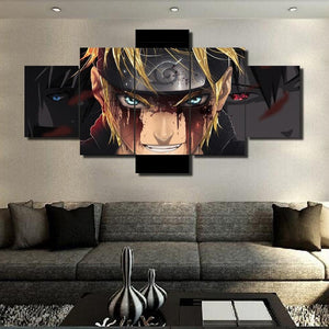 Naruto Wall Art canvas 5pcs - Adilsons