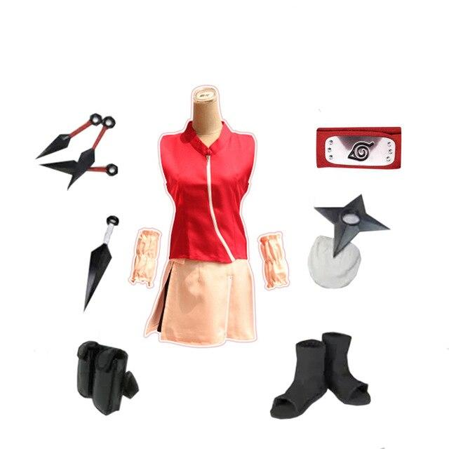 Naruto women's costume cool bright color. - Adilsons