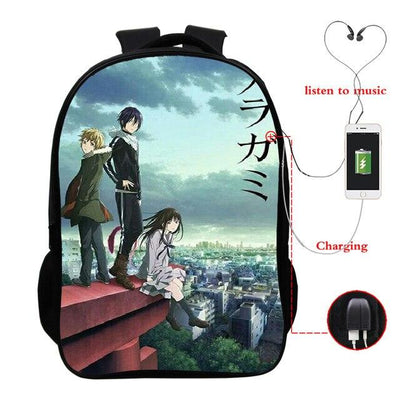 Noragami USB backpack. - Adilsons