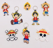 One Piece 3D double side keychains. - Adilsons