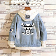 One Piece denim jacket. - Adilsons