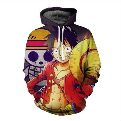 One Piece fashion hoodies. - Adilsons