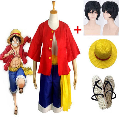 One Piece Luffy costume. - Adilsons