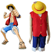 One Piece Monkey D Luffy Cosplay - Adilsons
