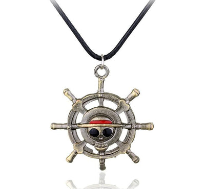 One Piece pirate Luffy necklace. - Adilsons