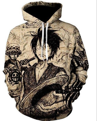 One Piece quality and casual hoodies. - Adilsons