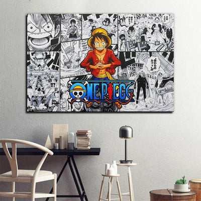 One Piece stylish painting. - Adilsons