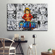 One Piece wall art painting. - Adilsons