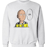 One Punch Hero casual sweatshirt. - Adilsons