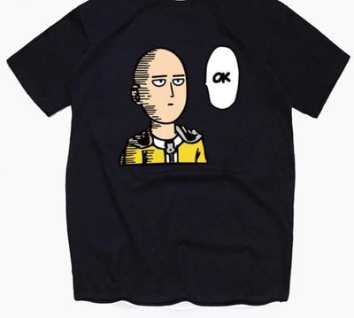 One Punch Man cotton T-Shirts. - Adilsons