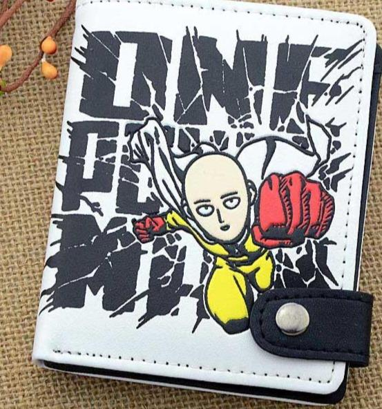 One Punch Man short wallet. - Adilsons