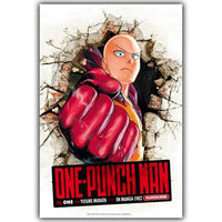 One Punch Man silk poster. - Adilsons