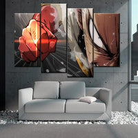 One Punch Man wall art canvas pictures. - Adilsons