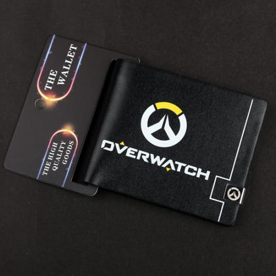 Overwatch black wallet. - Adilsons