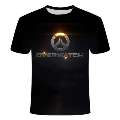 Overwatch fashion short sleeve T-Shirts. - Adilsons