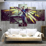 Overwatch home decor Angela Ziegler 5 panel. - Adilsons