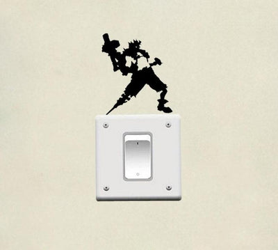 Overwatch light switch decoration sticker. - Adilsons