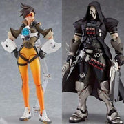 Overwatch Tracer Reaper action figure. - Adilsons