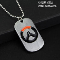 Overwatch unisex accessories pendant and necklace. - Adilsons