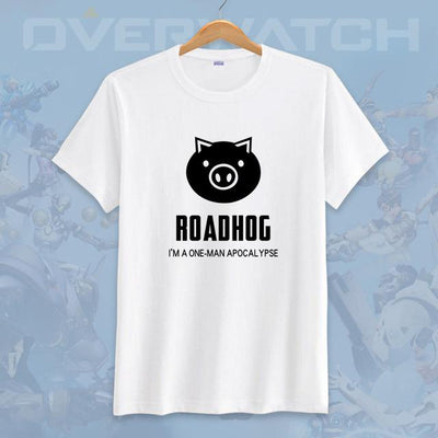 Overwatches white casual T-Shirts. - Adilsons