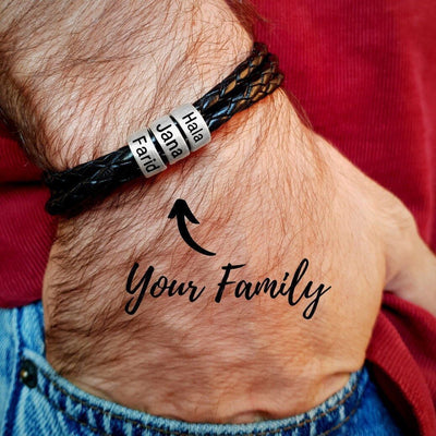 Personalized stainless steel charm bracelets. - Adilsons