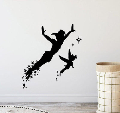 Peter Pan colorful wall stickers. - Adilsons