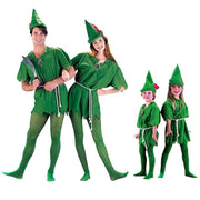 Peter Pan green costume for men/women/kids. - Adilsons